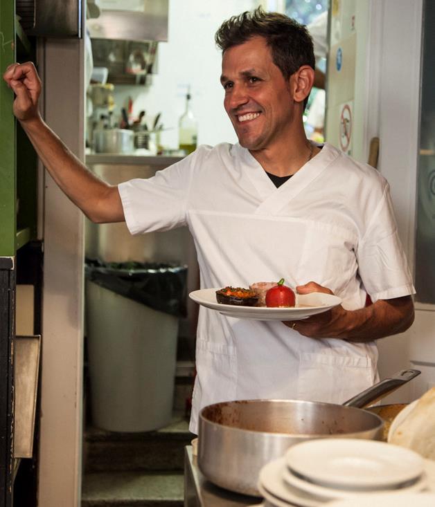 **Caffe Tomaso's chef and owner, Andrea Zuccolo**