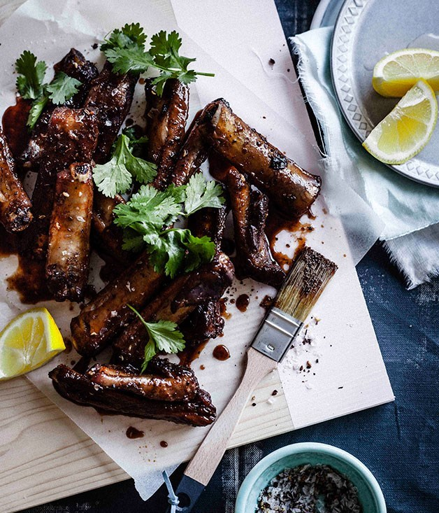 **Pork ribs with Sichuan salt**