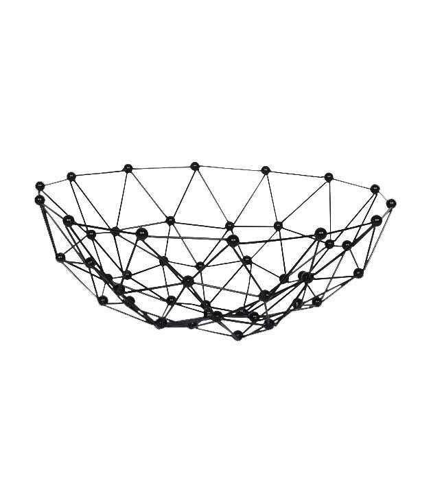 **Fenton & fenton node bowl** Node bowl, $90, [Fenton & Fenton](http://www.fentonandfenton.com.au/homewares/homewares-tableware-and-trays/trays-excellente-hexagon-large)