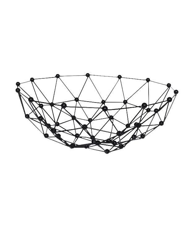 **Fenton & fenton node bowl** Node bowl, $90, [Fenton & Fenton](http://www.fentonandfenton.com.au/homewares/homewares-tableware-and-trays/trays-excellente-hexagon-large)