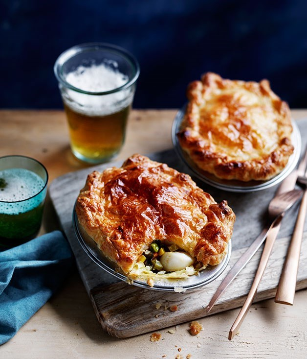 **Scallop pies**