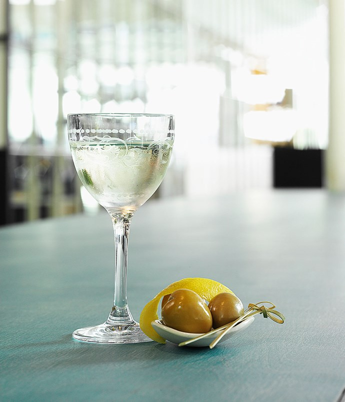 **Dry Martini 20** Ferdinand's Saar Dry Vermouth, Jensens's Bermondsey Dry Gin or Belvedere Pure Vodka, olives or a lemon zest