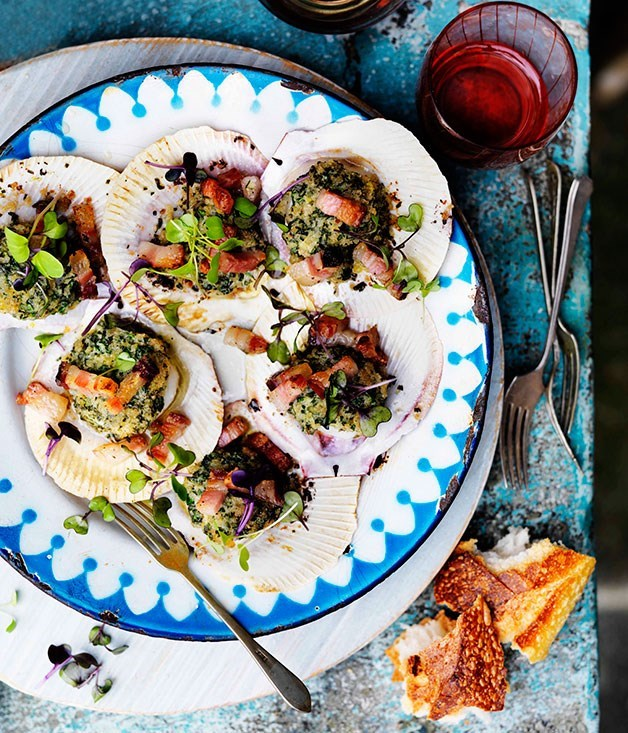 Recipes with scallops