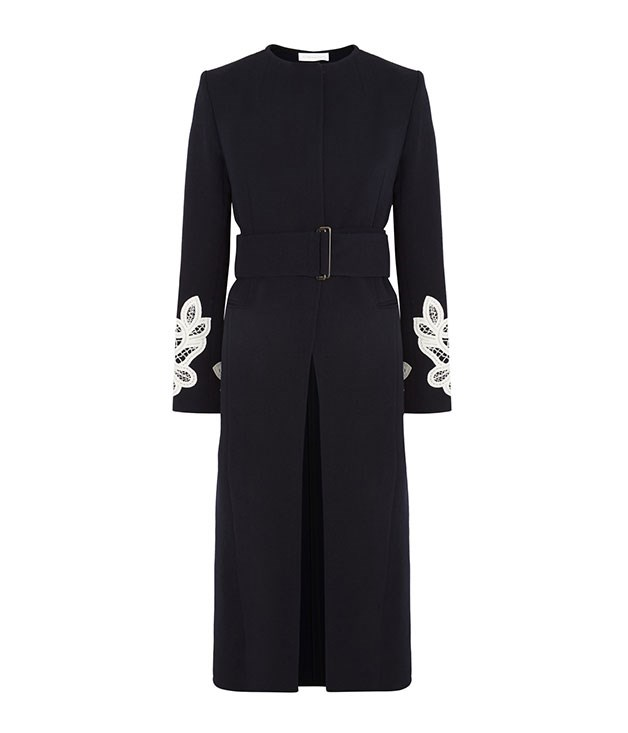 **Victoria Beckham** Victoria Beckham wool and cotton coat, $4,489, from [Net-a-Porter](https://www.net-a-porter.com/).