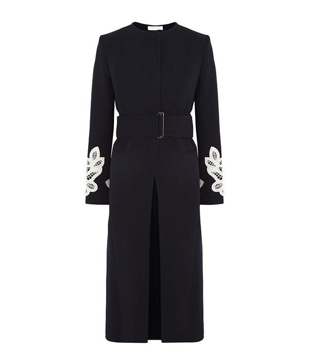 **Victoria Beckham** Victoria Beckham wool and cotton coat, $4,489, from [Net-a-Porter](https://www.net-a-porter.com/).