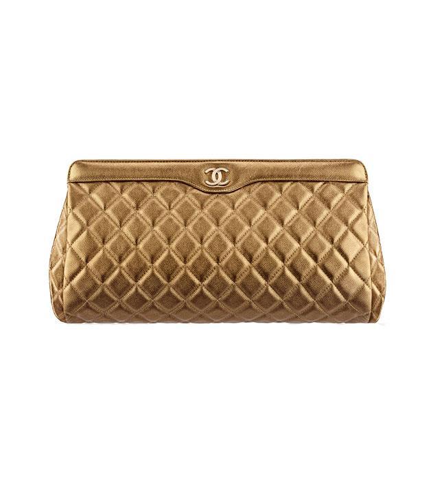 **Chanel** [Chanel](http://www.chanel.com/en_AU/) clutch bag, $3,920.