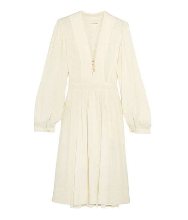 "**Isabel Marant** Isabel Marant ""Étoile Neil"" viscose dress, $765, from [Parlour X](http://www.parlourx.com/)."
