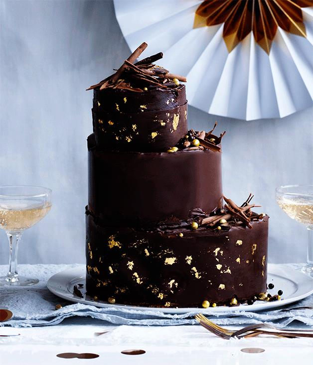 "**[Hazelnut-chocolate cake](https://www.gourmettraveller.com.au/recipes/browse-all/hazelnut-chocolate-cake-12600|target=""_blank"")**"