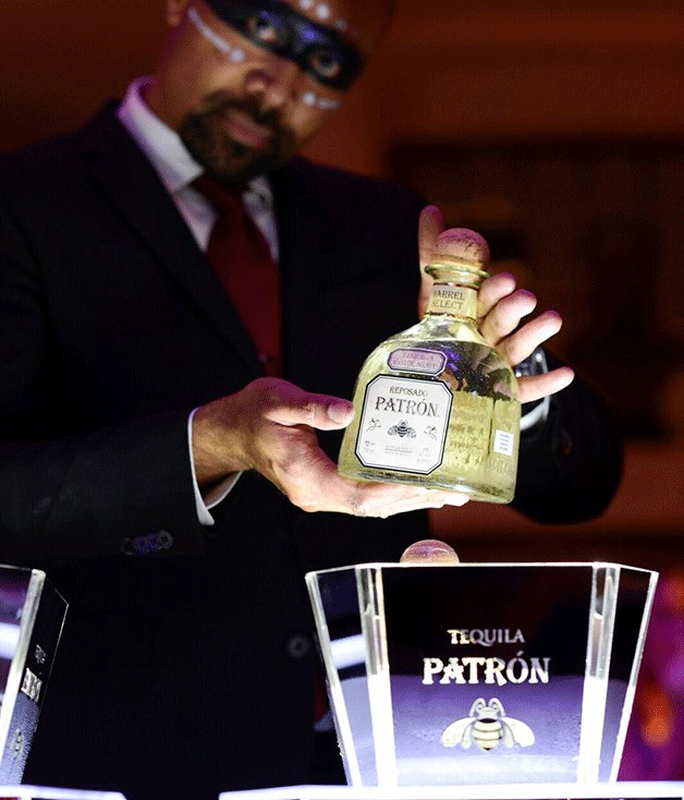 **Neil Perry's specially blended Tequila Patrón**