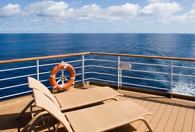Cruise control: Captain Kent of the Emerald Princess