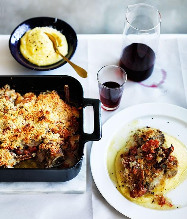 "[Guy Grossi's abbacchio alla Romana (Roman roast lamb)](https://www.gourmettraveller.com.au/recipes/chefs-recipes/guy-grossis-abbacchio-alla-romana-8507|target=""_blank"")"