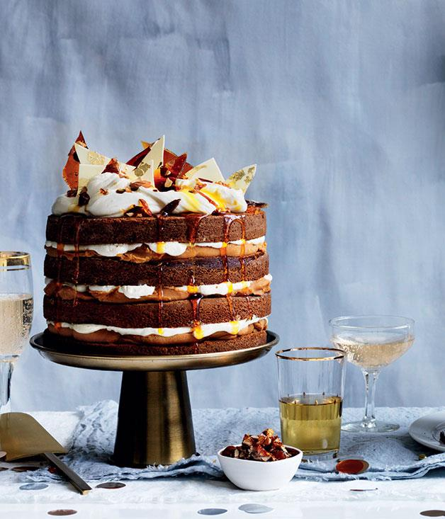 "[**The *Gourmet Traveller* 50th birthday cover cake: Ginger whiskey cake with burnt white chocolate ganache**](https://www.gourmettraveller.com.au/recipes/browse-all/gourmet-traveller-50th-anniversary-issue-cake-14005|target=""_blank"")"