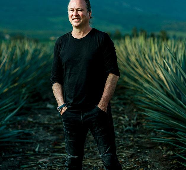 Neil Perry in the Patrón agave field