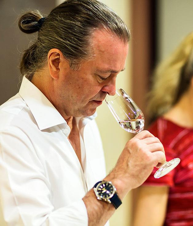 **Neil Perry tasting tequila**