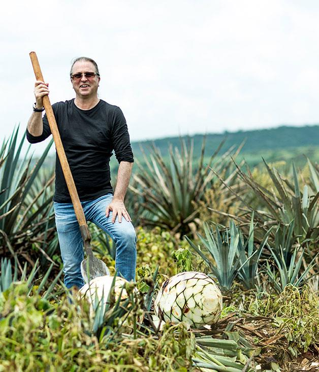 **Neil Perry in the Patrón agave fields**
