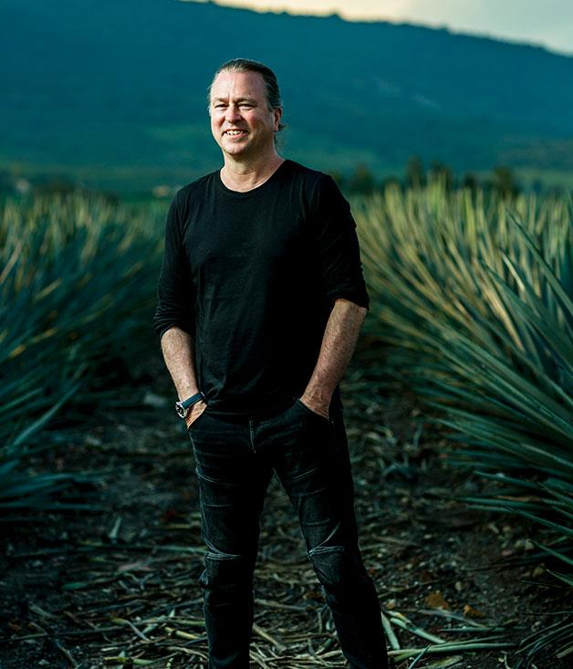**Neil Perry in the Patrón agave field**