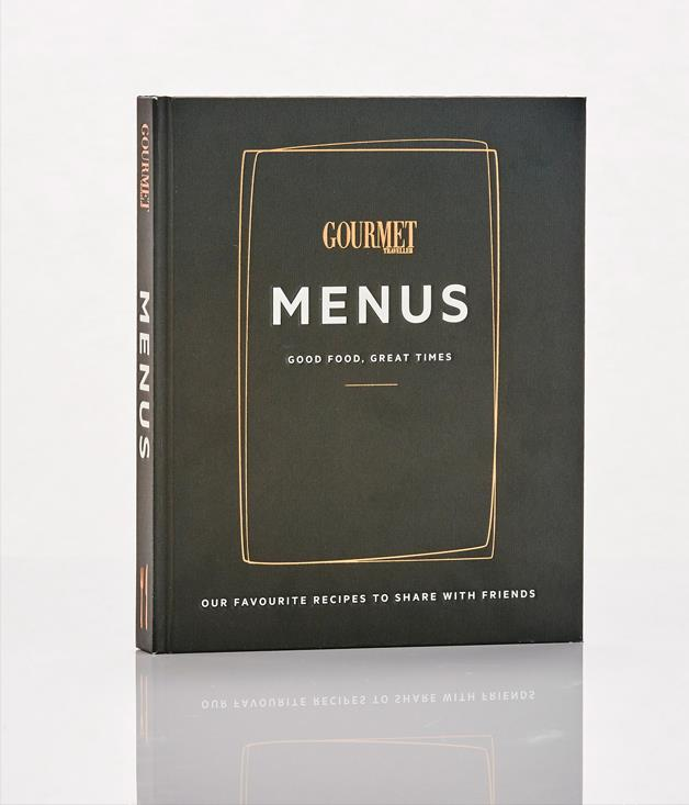 **Menus by Gourmet Traveller - $59.99** **[Buy it here.   ](http://sorrythanksiloveyou.com/menus-gourmet-traveller)**[   ](http://sorrythanksiloveyou.com/menus-gourmet-traveller)As part of Gourmet Traveller's 50th birthday celebrations, we launched our first hardcover cookbook, _Menus_. Within the pages of _Menus _ you'll find recipes for a Bondi clambake _GT _ threw with the team behind Sydney's The Bucket List, a gorgeous Christmas feast with Brigitte Hafner and the folks from Melbourne's Gertrude Street Enoteca, a hearty Blue Mountains harvest lunch (with rabbit broth and slow-roasted pork shoulder) by Sean Moran and a swish meal in Paris with chefs Shaun Kelly and James Henry. They also crank up the tunes and hot foot it to Hollywood for a wild dinner party with the Aussies behind EP & LP, and head to the slopes for an après-ski lunch with the Three Blue Ducks crew.**[   ](http://sorrythanksiloveyou.com/menus-gourmet-traveller)**