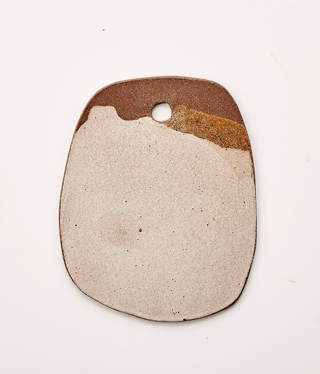 **Tara Burke Ceramic Cheeseboard - $90** [**Buy it here.**](http://sorrythanksiloveyou.com/tara-burke-ceramic-cheeseboard)  These quietly captivating stoneware cheeseboards are individually hand-built by ceramicist Tara Burke in her Sydney studio. Each piece is unique and slightly different from others, and whispers rather than shouts. The cheeseboards will make a fine addition to your next wine gathering.