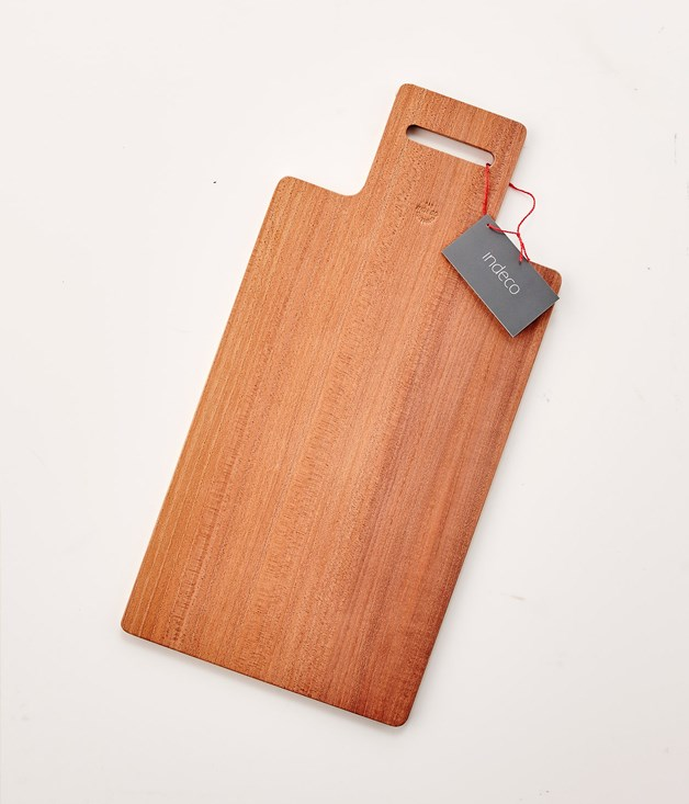 **Indeco Ned's Plat Board - $36** **[Buy it here.](http://sorrythanksiloveyou.com/indeco-ned-s-plat-board-21)**  Butter the toast on this board - or slice the onion, crush the garlic, place the cheese or whack the blowfly. Indeco's fine, non-laminated Ned's Plat boards have been made in the European tradition, but are spiced with an Aussie flavour. Each board has been made from a single piece of specially selected quarter-sawn timber, which is hard-wearing and offers great stability. Indeco designs are admired for their simple clean lines and elegant forms. The subtle but clever design of the Ned's Plat was inspired by Sidney Nolan's images of the Australian bushranger Ned Kelly.