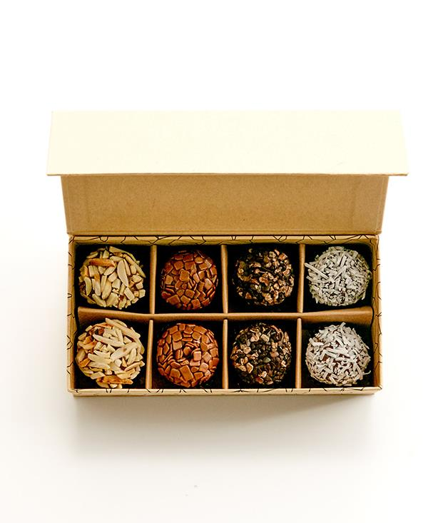 **Sweet Stone Chocolate Brazilian brigadeiros - $22** [Buy it here.](http://sorrythanksiloveyou.com/sweet-stone-chocolate-brazilian-brigadeiros-8)  Imagine fudge. Now combine it with a chocolate truffle, mix it with condensed milk and butter, then roll it in flaked almonds, raw coconut or milk chocolate splinters. What you have now isn't some kind of Frankenstein-style chocolate nightmare; it's a Sweet Stone brigadeiro. And it's delicious. Sweet Stone is a Sydney chocolate business, founded by Barbara Cardoso in 2014 on Sydney's Northern Beaches.