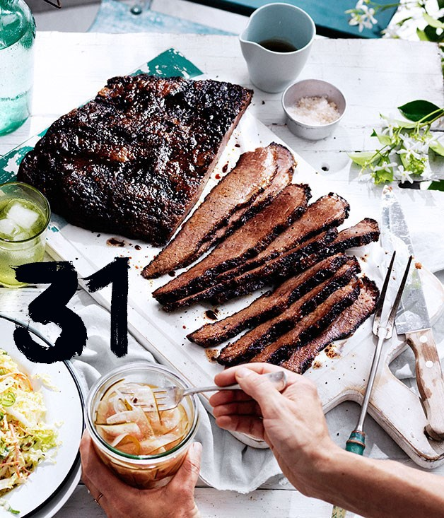 **Curtis Stone's 12-hour barbecue beef brisket**