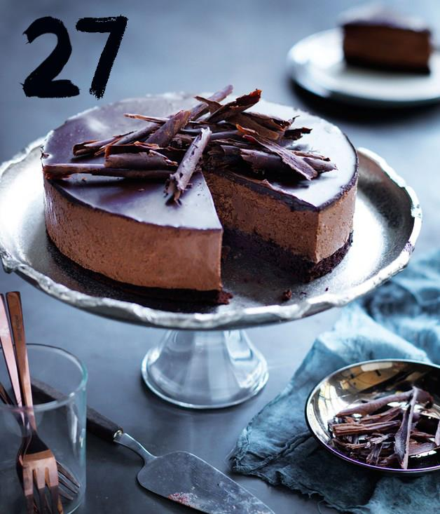 **Chocolate mousse cake**