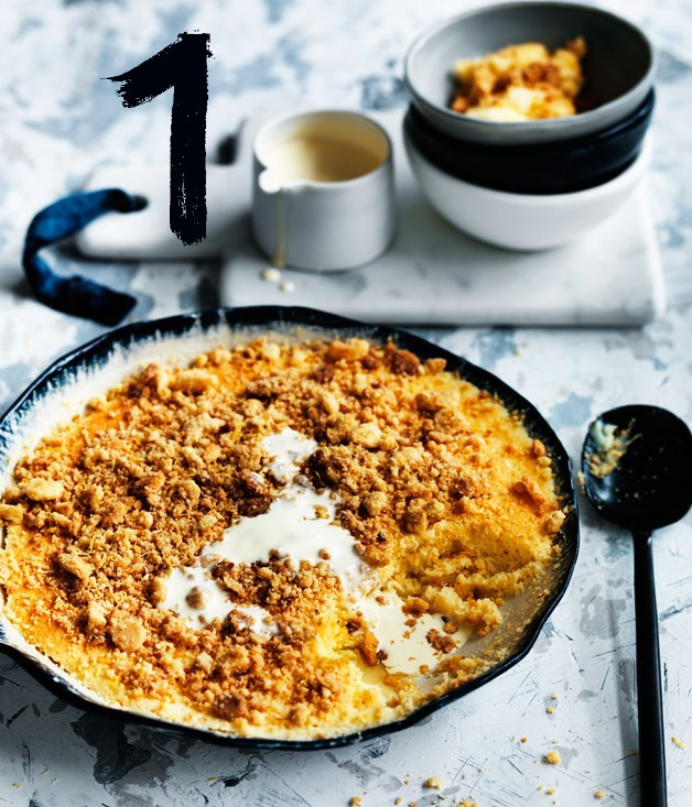 **Curtis Stone's lemon curd crumble**