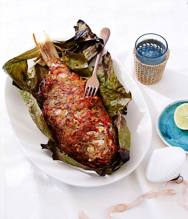 "**[Paul Carmichael's Creole fish](https://www.gourmettraveller.com.au/recipes/chefs-recipes/paul-carmichaels-creole-fish-8545|target=""_blank"")**"
