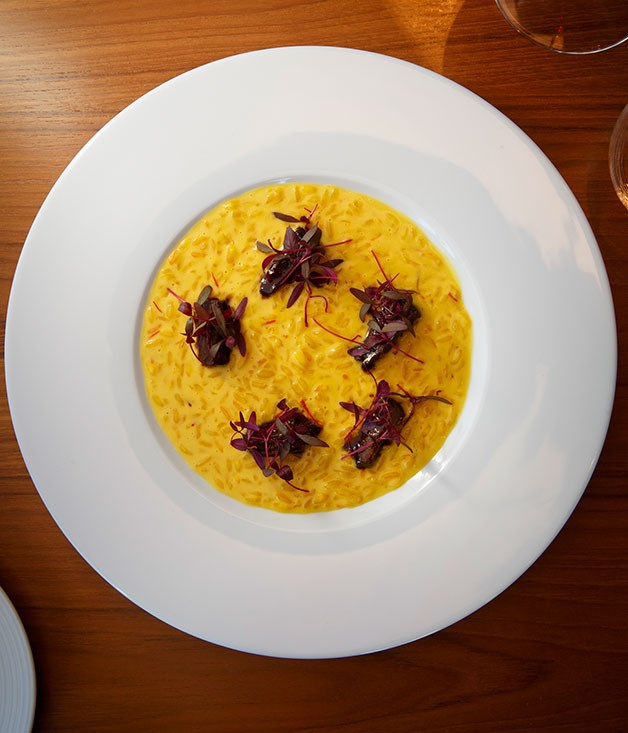 **Rice and Flesh, Dinner by Heston Blumenthal** There's an historical backstory to the dish, of course, but all you really need to know about Heston Blumenthal's rice and flesh to enjoy it is this: it's a sunflower-yellow pond of tangy, saffron spiked risotto lapping at pieces of kangaroo tail subtly cooked in curried red wine sauce. Comfort food circa 1390. _[Dinner by Heston Blumenthal](http://www.dinnerbyheston.com.au/), Crown Towers, level 3, 8 Whiteman St, Southbank, Vic, (03) 9292 5779_