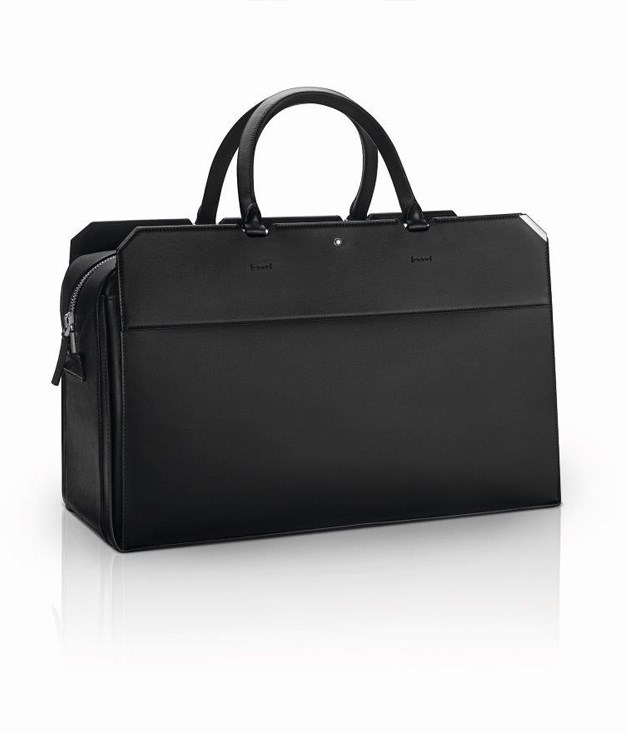 **Montblanc Urban Spirit Duffle Bag** Do the clothes make the man, or does the man make the clothes? At Mont Blanc, it's attention to detail which counts - namely, timeless accessories. This deluxe leather duffle bag is a classic addition to any gentleman's wardrobe.      _Approx $2100, [montblanc.com](http://montblanc.com)_