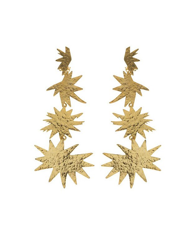 **Christine Nicolaides Asteria Earrings in Gold** Brisbane-based jewellery designer Christine Nicolaides draws inspiration from the jewellery of ancient Greece and Mesopotamia, yet her pieces also embody an elegant and timeless aesthetic. These handcrafted gold-tone brass earrings will be sure set hearts a-flutter this Christmas.  _$239, [christie-nicolaides.myshopify.com](http://christie-nicolaides.myshopify.com)_