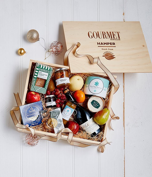 **Gourmet Traveller x Snowgoose Christmas hamper** We've teamed up with the folks at Snowgoose to bring you [the ultimate Christmas hamper](http://www.gourmettraveller.com.au/recipes/food-news-features/2016/11/gourmet-traveller-christmas-hamper/). All killer no filler, these food hampers are brimming with hand-selected drinks and nibbles to seduce and surprise the palate.      _From $195, [snowgoose.com.au/products/the-gourmet-traveller-summer-hamper](https://www.snowgoose.com.au/products/the-gourmet-traveller-summer-hamper)_