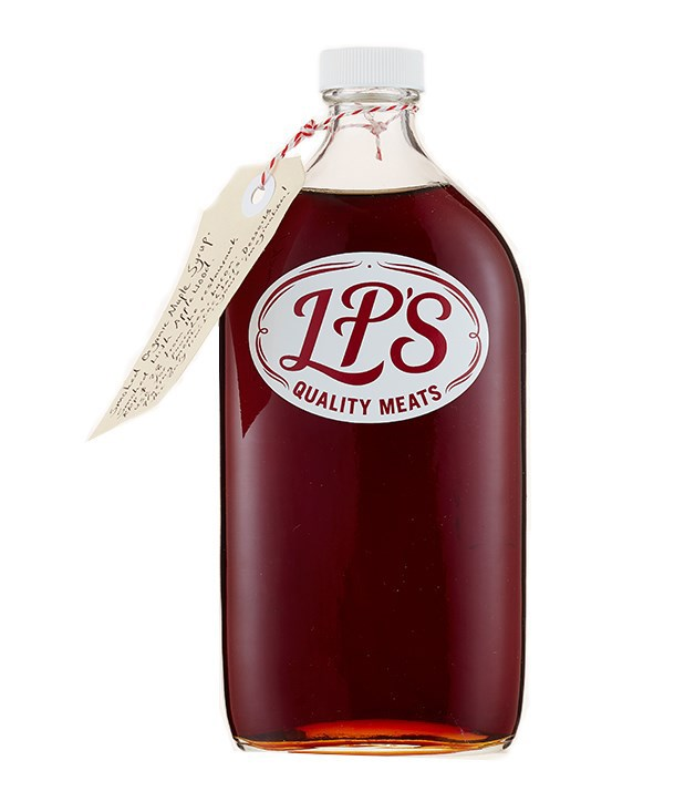 **LP's Quality Meats smoked maple syrup** This [smoked organic Canadian maple syrup](http://www.gourmettraveller.com.au/recipes/food-news-features/2016/7/smoked-maple-syrup-by-lp-quality-meats/) is perfect for slathering over pancakes or bacon, adds a smoky richness to meat glazes meat and cocktails.      _$30 for 500ml, [lpsqualitymeats.com](http://www.lpsqualitymeats.com) or [purchase online through our pop-up Christmas boutique](http://sorrythanksiloveyou.com/lp-s-quality-meats-smoked-maple-syrup), open until 18 December._