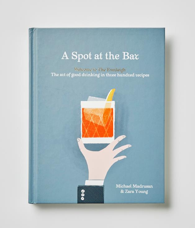**A Spot At The Bar by Michael Madrusan and Zara Young** The team behind Melbourne cocktail bar The Everleigh have put together 300 of their favourite cocktail recipes - enough to take you from a sunset aperitif to a morning-after hair of the dog. We'll drink to that.      _$45, Hardie Grant, [booktopia.com.au/a-spot-at-the-bar-michael-madrusan/prod9781743791318.html](http://www.booktopia.com.au/a-spot-at-the-bar-michael-madrusan/prod9781743791318.html)_  [See Michael and Zara's favourite cocktails for summer here.](http://www.gourmettraveller.com.au/drinks/drinks-features/2016/12/summer-cocktail-recipes-by-the-everleigh/)