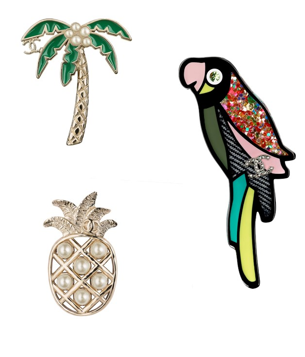 **Chanel Cuba Brooches** Chanel's dazzling Cuba Brooches from its 2016/17 Cruise collection are as colourful and fun as the country they're named for. Crafted from materials such as resin, diamantes, metal and fantasy pearls, the brooches make for a bold yet timeless statement piece.      _From $440, [chanel.com](http://www.chanel.com)_