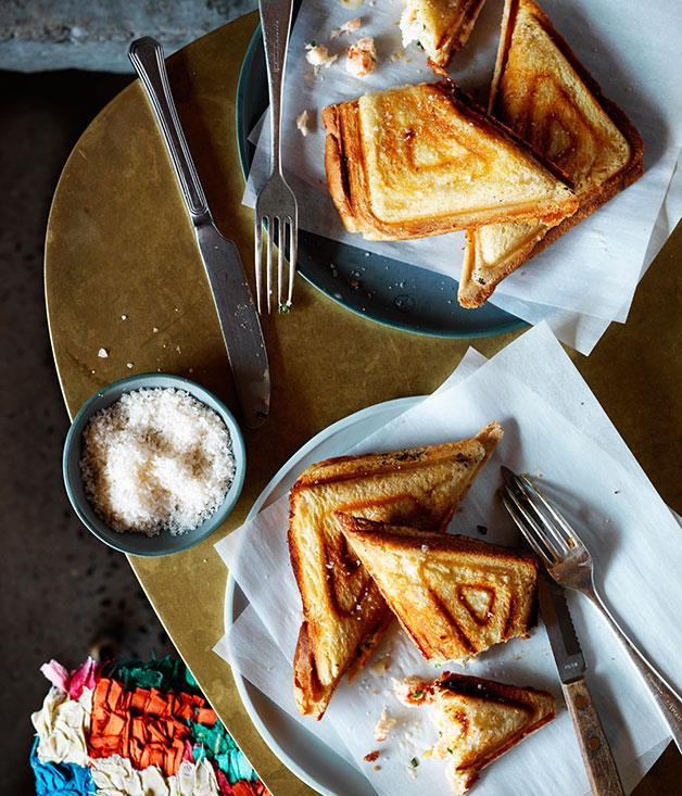 **Yabby jaffle, Monster** Fun fact: Monster's yabby jaffle started life as a snack when Sean McConnell was cooking at Močan & Green Grout. In his luxe version at Hotel Hotel, poached yabby meat is stuffed into fluffy white bread along with horseradish, crème fraîche and Gruyère, then it's toasted to a perfect shade of gold. It's sharp, buttery, cheesy goodness. Club sandwich who? _[Monster](http://monsterkitchen.com.au/), Hotel Hotel, 25 Edinburgh Ave, Canberra, ACT, (02) 6287 628_
