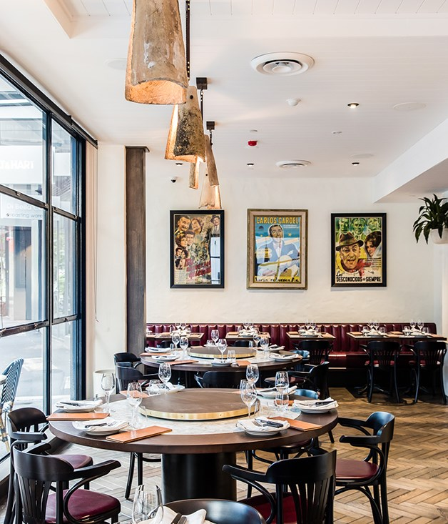 """**Interior** Light floods into the new space, says co-owner ElvisAbrahanowicz. """"It's nice being able to see outside and not just be stuck in the kitchen like we were at the old site."""""""