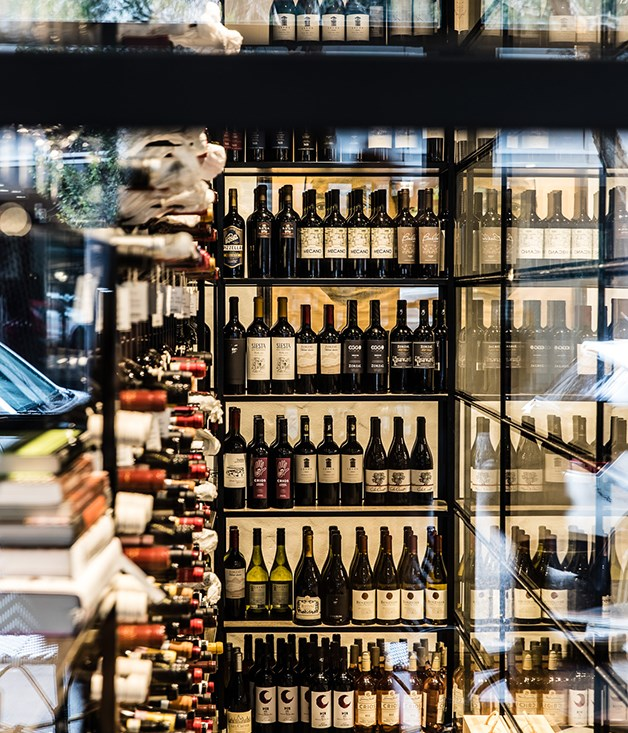 "**Wine** ""Joe \[co-owner and sommelier Joe Valore\] went a bit nuts with the wine list,"" says Abrahanowicz. It lists over 300 bottles from Argentina, Italy and Australia."