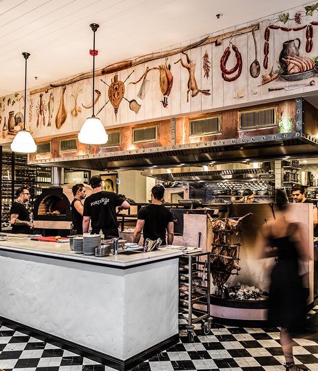 "**Overlooking the open kitchen** Porteño's parilla and asado fire pit have made the move over to the Holt Street site, as have the restaurant's famous deep-fried Brussels sprouts, which ""will never come off the menu,"" says Abrahanowicz.  _Porteño, 50 Holt St, Surry Hills, NSW, (02) 8399 1440, open 6pm-late Tues - Sat,  [porteno.com.au](http://www.porteno.com.au/)._"