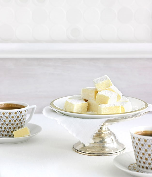 "[**Passionfruit marshmallows**](https://www.gourmettraveller.com.au/recipes/chefs-recipes/passionfruit-marshmallows-8837|target=""_blank"")"