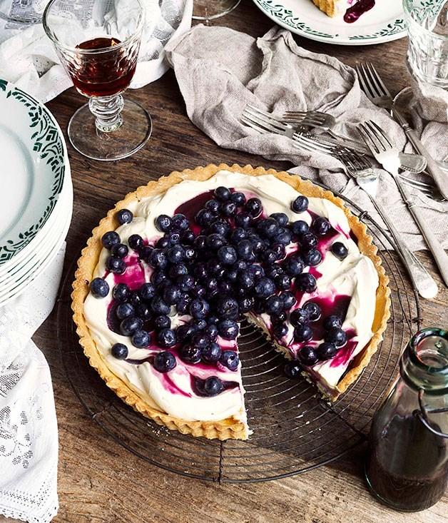 **Blueberry tart**