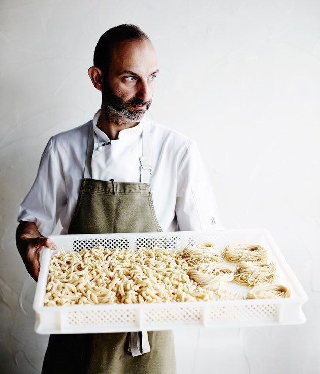 **Pasta recipes by Melbourne's Tipo 00** Built on a foundation of impeccable pasta and good vibes, [Tipo 00](http://www.gourmettraveller.com.au/recipes/food-news-features/2016/5/recipes-by-tipo-00/) has won the hearts of Melbourne diners. Chef and co-owner Andreas Papadakis believes that sticking with tradition and simplicity is the best course of action when it comes to pasta, however he says there are times when he tweaks a recipe with non-traditional ingredients.       Photography: Mark Roper      **See Papadakis' recipe for [rigatoni ragu Bolognese](http://www.gourmettraveller.com.au/recipes/recipe-search/chefs-recipes/2016/4/tipo-00s-rigatoni-rag-bolognese/).**