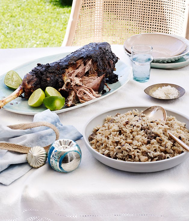 "[Paul Carmichael's (Momofuku Seiōbo) curried lamb leg](http://www.gourmettraveller.com.au/recipes/chefs-recipes/paul-carmichaels-curried-lamb-leg-8542 target=""_blank"")"