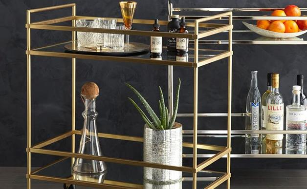Beautiful bar carts for your home