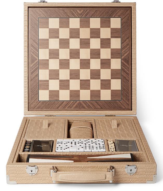 **Hector Saxe embossed leather game set** _$2,580, [mrporter.com](https://www.mrporter.com/)_