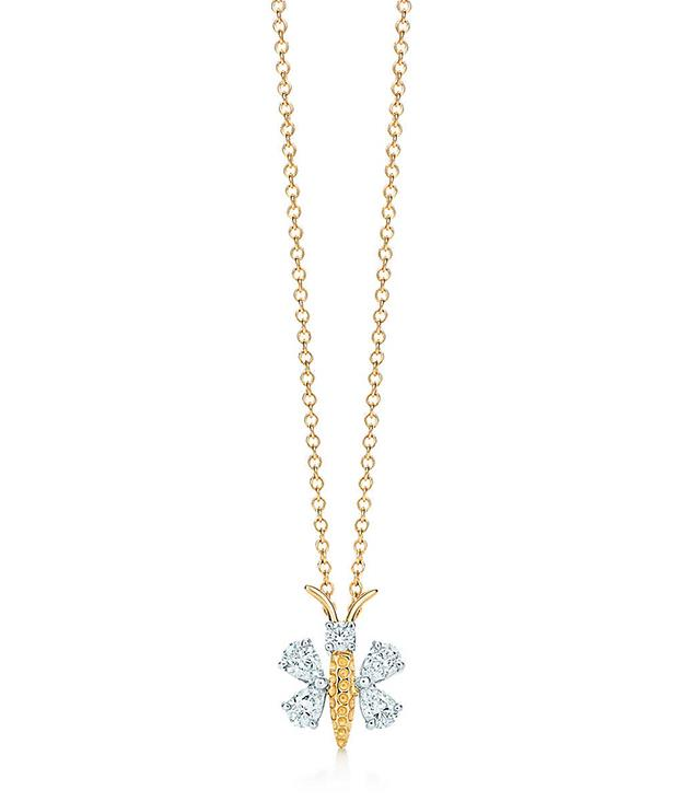**Tiffany & Co Schlumberger Butterfly pendant in 18-carat gold and diamonds** _$3,950, [tiffany.com.au](http://www.tiffany.com.au/)_