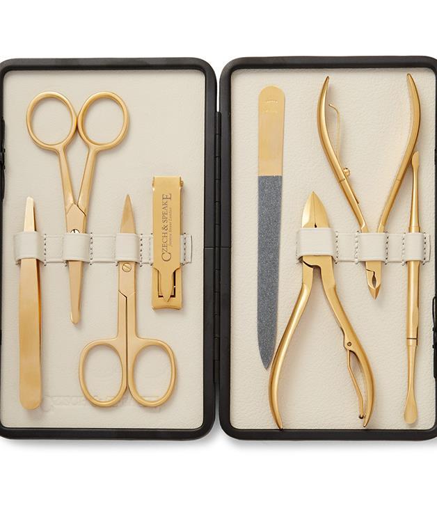 **Czech & Speake manicure set** _$602, [mrporter.com](https://www.mrporter.com/)_