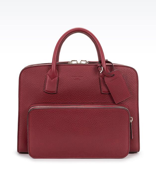 **Giorgio Armani Private Bag briefcase** _$2,250, [armani.com/au](http://www.armani.com/au)_