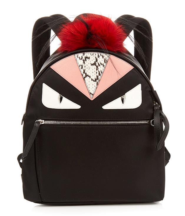 **Fendi Bag Bugs nylon and fur backpack** _$2,566, [matchesfashion.com/au](http://www.matchesfashion.com/au/)_