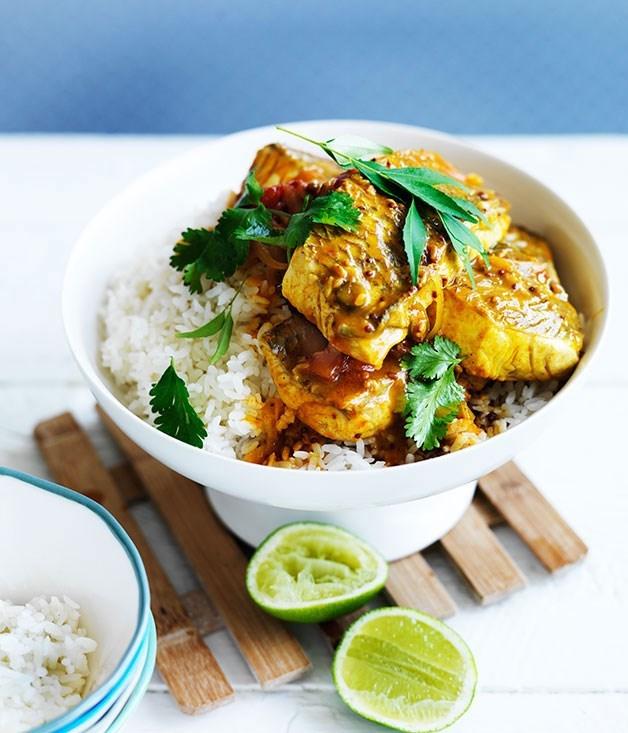 **Sri Lankan fish curry**